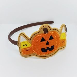 Halloween Headband Slider Pumpkin Candy Corn